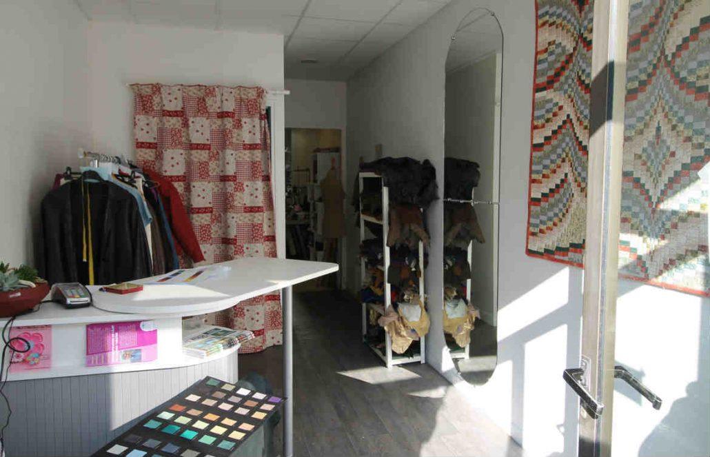 atelier de couture - espace d'accueil