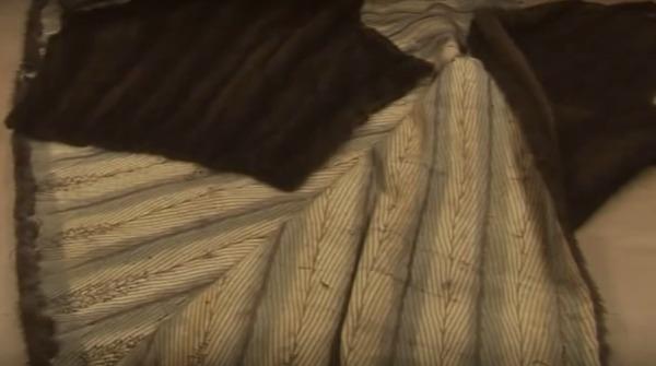 intérieur manteau vison