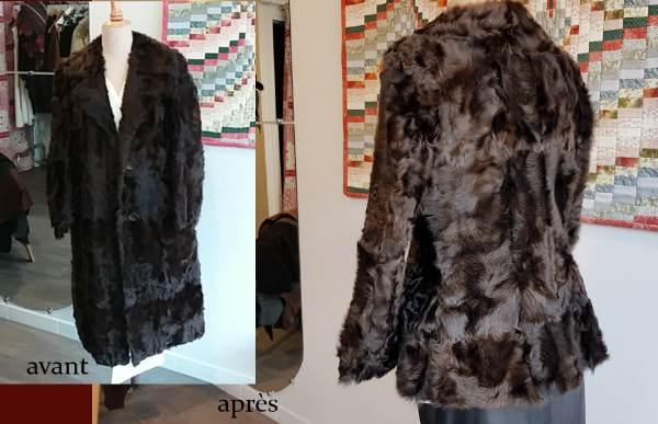 manteau modifié