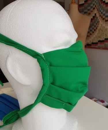 masques covid en tissu