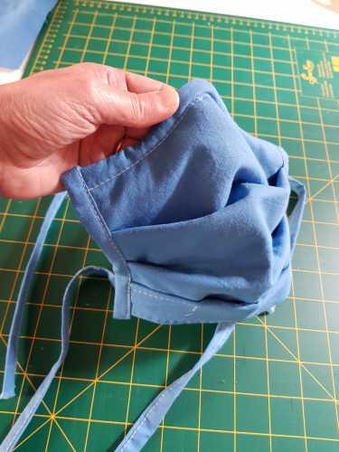 masque adulte confort 2 couches masques covid en tissu