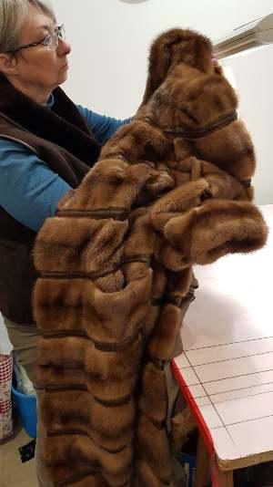 manteau pleines peaux